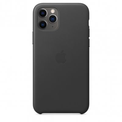 iPhone 11 Pro Leather Case - Black MWYE2ZM/A