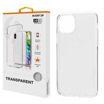 ALIGATOR Pouzdro Transparent Apple iPhone 11 Pro PTA0033
