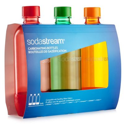 SodaStream Flaša TriPack 1l ORANGE/RED/GREEN