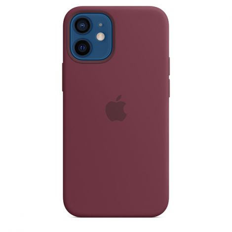 iPhone 12 mini Silicone Case with MagSafe Plum/SK MHKQ3ZM/A
